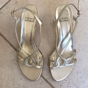 Stuart Weitzman real leather sandals